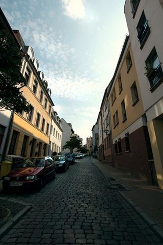 In der Altstadt von Rostock