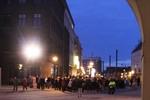 Demonstration wie vor 20 Jahren in Rostock