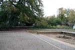 Kirchenplatz und Kurgarten in Warnemünde