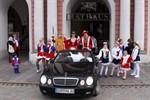 Im Rostocker Rathaus sind die Narren los - 11. 11.