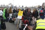 Klimaschutz-Demo startet am Rostocker Hbf
