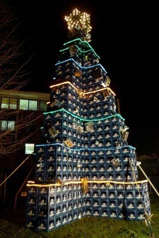 Moderner Weihnachtsbaum.Moderne Kunst Oder Ein Weiterer Werbetiefgang Rostock Heute