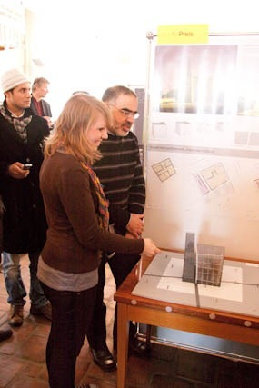 Moschee Rostock Siegerin Cathleen Hofbauer und Ahmed Fakhouri
