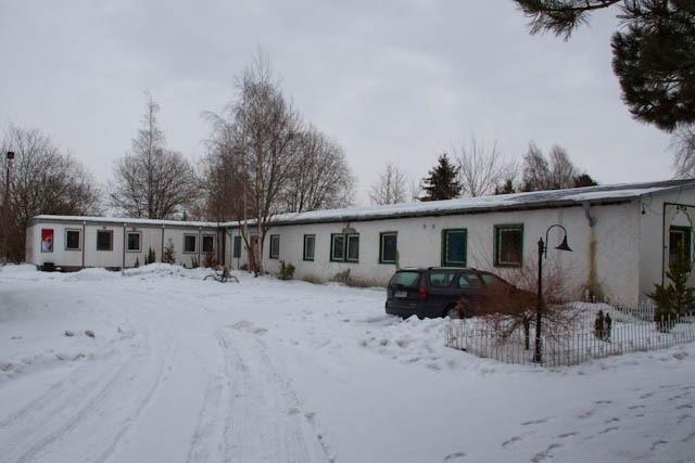 Aktuelle Moschee: Zweckbau und Provisorium