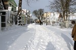 """Tief """"Miriam"""" bringt erneut Schnee nach Rostock"""