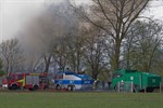 Brand auf Reiterhof - Großeinsatz der Feuerwehr