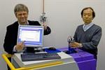 Neues Terahertz-Spektrometer der Uni Rostock