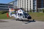 Neuer Hubschrauber am Südstadt-Klinikum