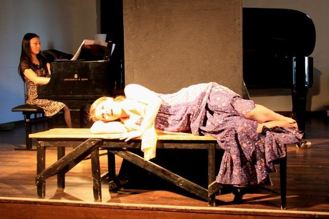 Jing Li und Julia Ebert beim Liederabend