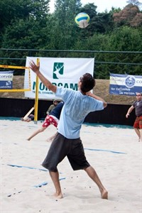 Beachvolleyball Ranglistenturnier in Rostock