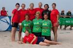 16. Beachhandballtage 2010 am Strand von Warnemünde