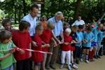 Neuer Ballsportplatz im Kurgarten Warnemünde