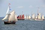 Haikutter-Regatta zur Hanse Sail Rostock 2010