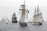 """""""Shtandart"""" gewinnt die Hanse Sail Regatta 2010"""