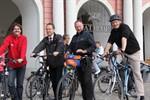 """Stadtradeln"" - Rostocker Politiker radeln um die Wette"