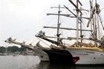 Die Hanse Sail 2010 im Rostocker Stadthafen