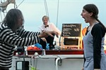 Ostsee-Theatersporttournee im Rostocker Stadthafen