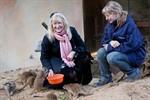 Patenbesuch bei den Erdmännchen im Rostocker Zoo