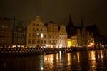 Großer Zapfenstreich auf dem Neuen Markt in Rostock