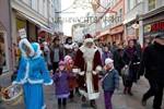 Rostocker Weihnachtsmarkt 2010 offiziell eröffnet