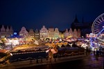 Karussells auf dem Rostocker Weihnachtsmarkt 2010