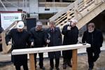 Universität Rostock - Richtfest für neues Hörsaalgebäude