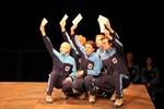 Schillers Räuber feiern Premiere im Theater im Stadthafen