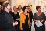 Feliks Büttner und Helga Villanyi in der Galerie Möller