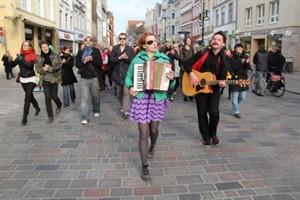 Flashmob auf der Kröpeliner Straße
