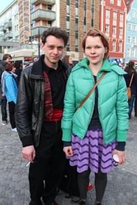 Michael Ruchter und Janny Fuchs