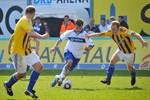 Hansa Rostock besiegt Carl Zeiss Jena mit 2:1