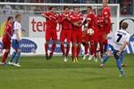 FC Hansa Rostock schlägt den FC Heidenheim mit 2:1