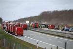 Acht Tote bei Massencrash auf der A19 bei Rostock