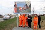 """Straßenwärter-Plakataktion """"Ihre Sicherheit ist mein Beruf"""""""
