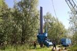 Sicherungsmaßnahmen auf dem Gaswerkgelände