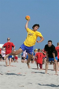 Beachhandballtage in Warnemünde
