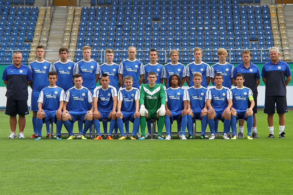 Nachwuchsteams vor der Linse - FC Hansa Fotoshooting II ...