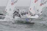 Franziska Goltz gewinnt Laser Europa Cup 2011