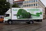 Erster Hybrid-LKW in Mecklenburg-Vorpommern