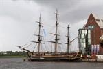 Bounty entert die Hanse Sail Rostock 2011