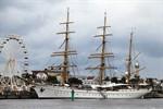 Hanse Sail 2011: Gorck Fock lädt zum Open Ship ein