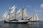 Die Hanse Sail 2011 in Rostock