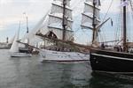 Hanse Sail 2011: Regatten und Feuerwerk am Samstag