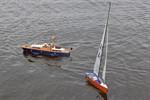 "Modellschiffe bei der ""Mini Sail"" 2011 im IGA-Park"