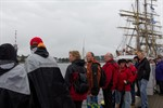 Zweiter Hanse Sail-Tag in Warnemünde