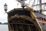 "Filmschiff ""Bounty"" zur Hanse Sail in Rostock"