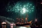 """""""Sailor's Feuerwerk"""" zur Hanse Sail 2011"""