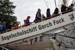 """Segelschulschiff """"Gorch Fock"""" auf der Hanse Sail 2011"""
