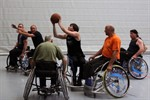 Rollstuhlbasketball in der Scandlines Arena
