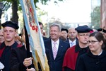 Bundespräsident Wulff begrüßt Erstsemester an der Uni